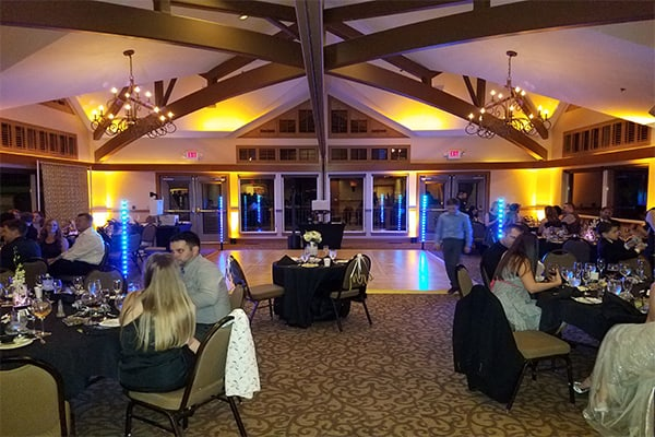 wedding uplighting only the best sound mobile dj & lighting