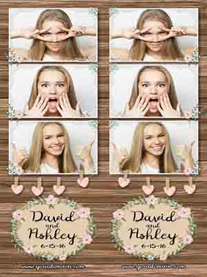 photo booth template only the best sound dj photobooth wedding oregon