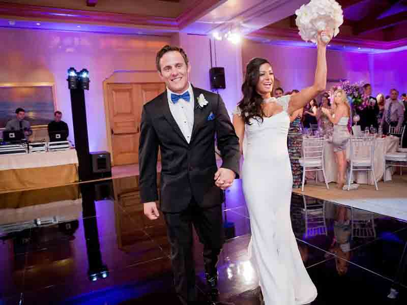 oregon wedding dj, wedding uplighting