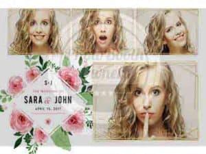 oregon wedding dj, oregon photobooth rental, wedding photobooth template