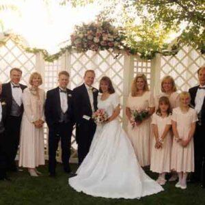 wedding receiving line, oregon wedding dj, wedding dj services