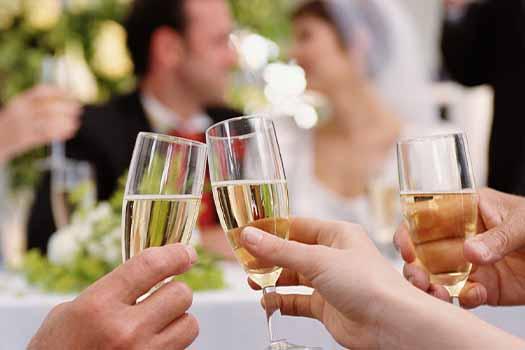 wedding toast, oregon wedding dj, wedding dj services